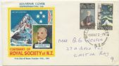 10/10/1967 NZ FDC Centenary of the Royal Society of New Zealand set of 2 (NFD/1233)